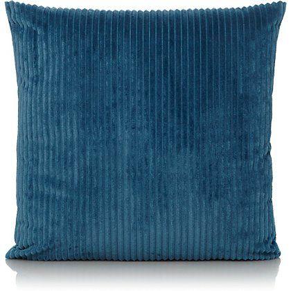 Jumbo Cord Cushion - Teal   Home & Garden   George