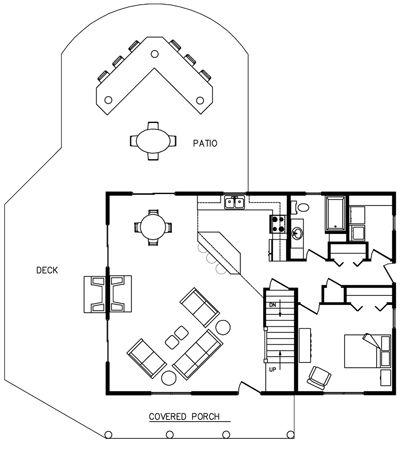 3 Bedroom Den Townhouse Floor Plan