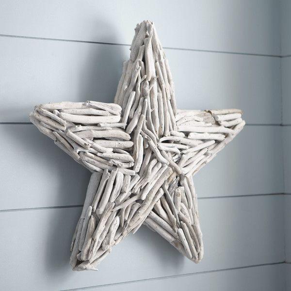 Birch Lane White Washed Driftwood Star