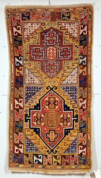 Turkish Konya rug, second half 19th century