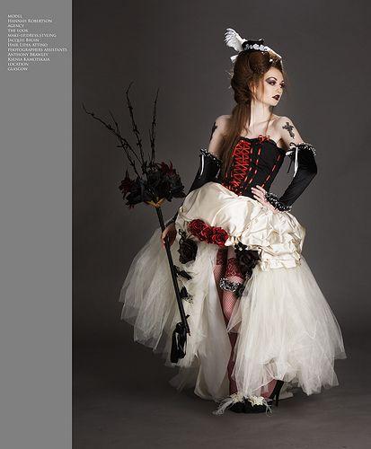 gothic wedding, via Flickr.