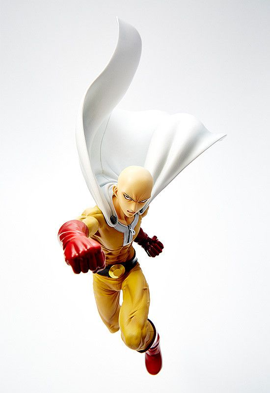 """Pre-Order Estimated Release: January 2017 Series: One Punch Man Manufacturer: Sentinel Sculptor: Yuuki Ishiyama Specifications: Painted, 1/6 scale ABS & PVC figure Height (approx.): 290mm / 11.4"""" From"""