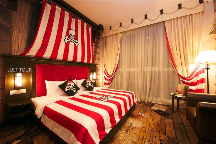 해적 테마룸, 레고랜드호텔
