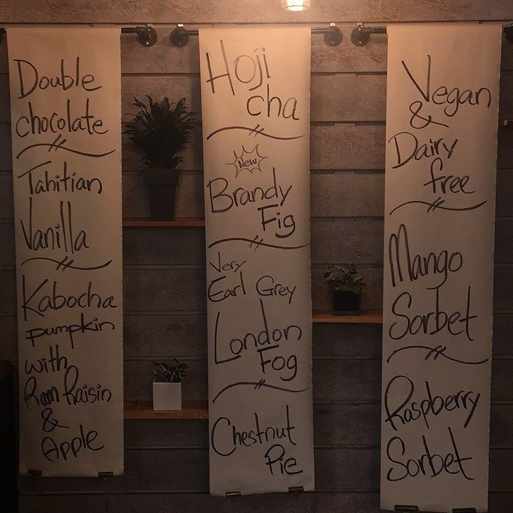 Survived the short week! - Reward yourself with our newest flavor the Brandy Fig. - Also notable this week 2 tea flavors on menu. Hoji Cha and Earl Grey London Fog. - #brandyfig #hojicha #londonfog #earlgrey #vancouver #creamery #2729arbutus #tangramcreamery #southkitsilano #arbutus #icecream #yummy #fresh #gourmet #happy #sun #vegan #creambased #mouthgasm #foodstagram #yvr