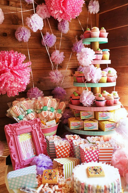 Birthday Party Ideas - Blog - PRETTY IN PINK CARNIVAL ~ COUNTY FAIR ~ AMUSEMENT PARK BIRTHDAY PARTYIDEAS
