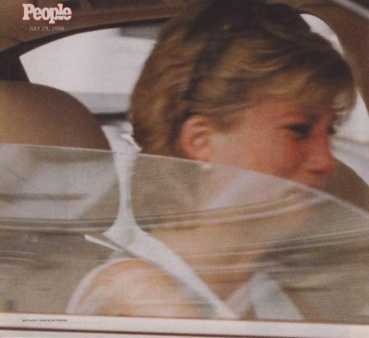 Princess Diana upset... :( The date states July 29, 1996 which would have been her 15th wedding anniversary. She had such emotional distress & no one she could trust to just talk to. How much can a person take?