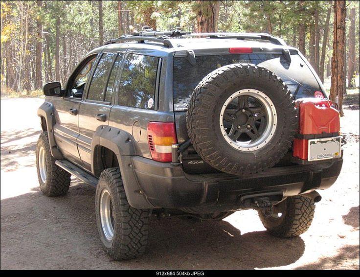 WJ Rear Tire Mount                                                       …