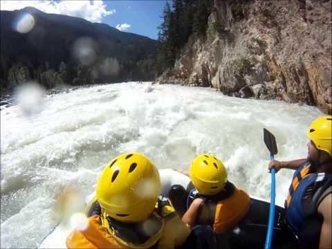 GoingRafting.com a different kind of rafting site #kickinghorse #explorebc #whitewaterrafting  Rafting Video on the Kicking Horse