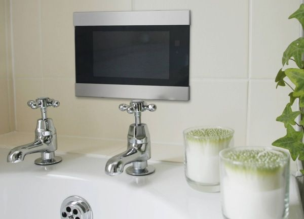 "Techvision Infiniti 19"" Waterproof LCD TV. Buy Bathroom TVs from UK Bathrooms"