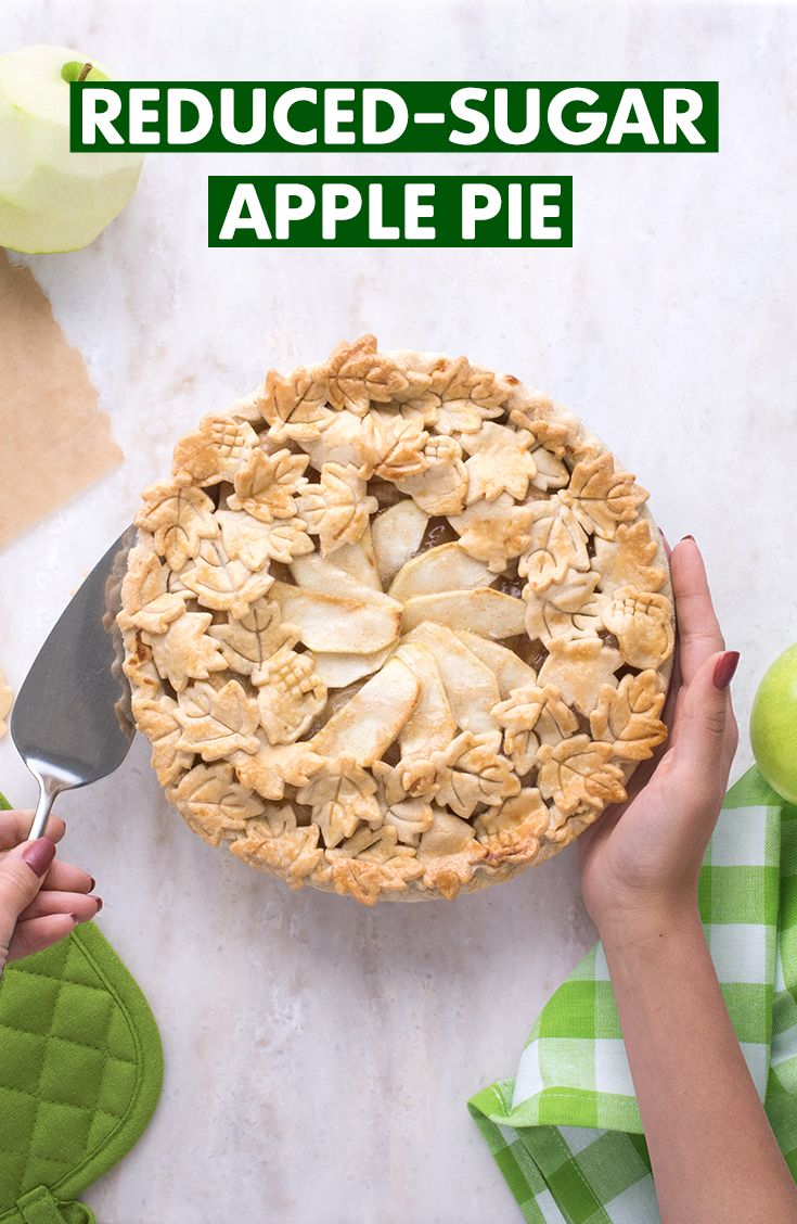After a long day of raking, you'll want a recipe that's easy to make! Bake our delicious reduced-sugar Apple Pie recipe featuring Truvia Baking Blend and Brown Sugar Blend.