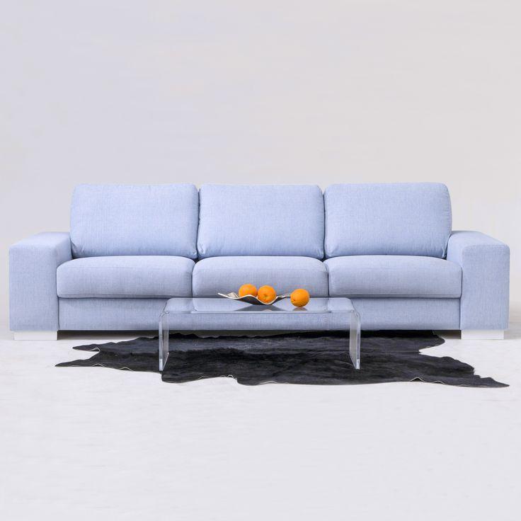 Upea vaaleansininen sohva varastaa huomion! Malli: Tokyo Verhoilu: Kangas, Yedi 196 Vaihtoehdot: 2- ja 3-istuttava sohva, modulisohva, rahi Jälleenmyyjä: Masku-myymälät  #pohjanmaan #pohjanmaankaluste #käsintehty