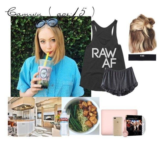 """""""Camryn // 3 - 23 - 17 // Dinner"""" by dream-families ❤ liked on Polyvore featuring Victoria's Secret PINK, Beats by Dr. Dre, Speck and TheOliverFamily"""