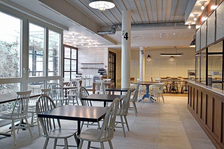 oltre 25 fantastiche idee su design per interni ristorante su ... - Arredamento Design Ristorante