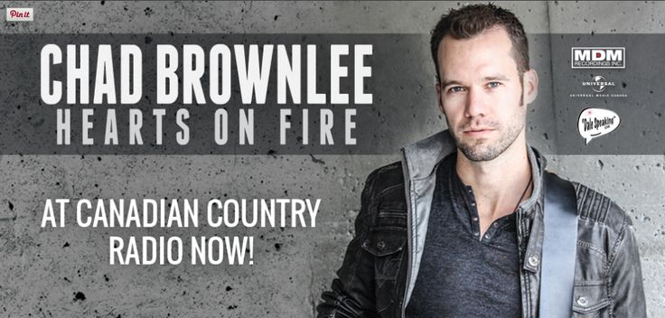 Chad Brownlee on the island!
