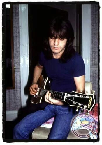 Malcolm Young of AC/DC by Ross Halfin Photography.