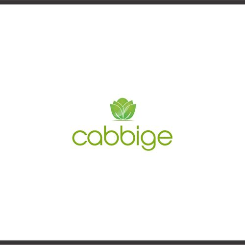 Cabbige - Logo design for sustainable farming app