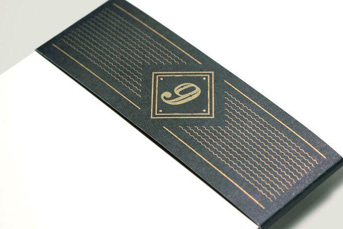 Oxlot 9 restaurant branding stationery