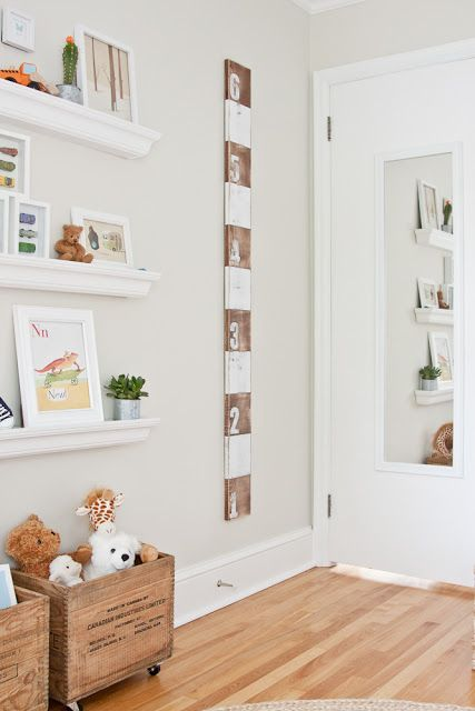 DIY height tracker - Cozy.Cottage.Cute.: ♥ House Tour
