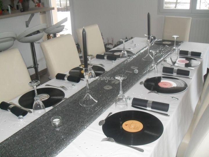 id es d coration pour un mariage sur le th me de la musique mariage wedding and reception. Black Bedroom Furniture Sets. Home Design Ideas