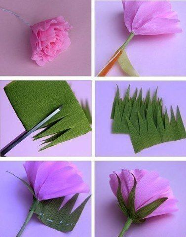 Auf folgende Seite erkennen Sie, wie kann man ganz einfach und schnelle die wunderschöne Blumen aus Papier selber basteln.
