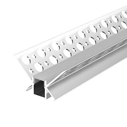 Amazing LED Profil f r Gipskarton U Version m Rehgips Trockenbau