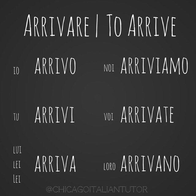 Learning Italian Language ~ arrivare | to arrive