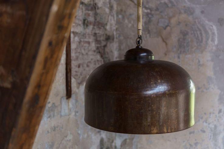 Dutchbone Lampa Wisząca Besar 5300053 : Lampy wiszące metalowe : Sklep internetowy Elektromag Lighting #vintage #lighting #lamp