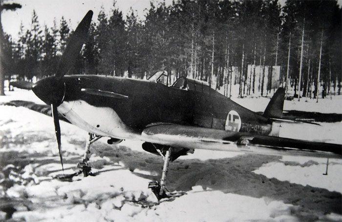 Hurricane Finnish air force