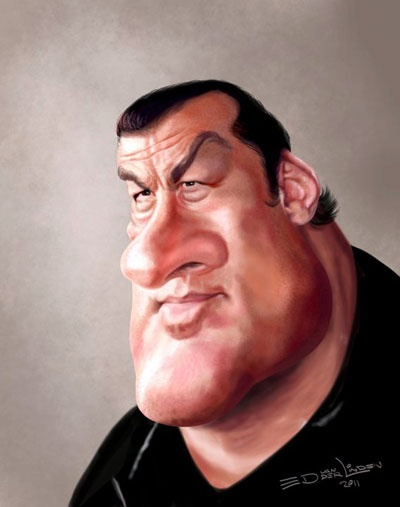Caricature Portraits by Ed van der Linden