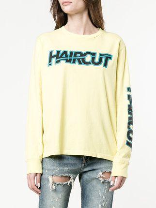 Ashley Williams 'Haircut' Sweatshirt mit Print