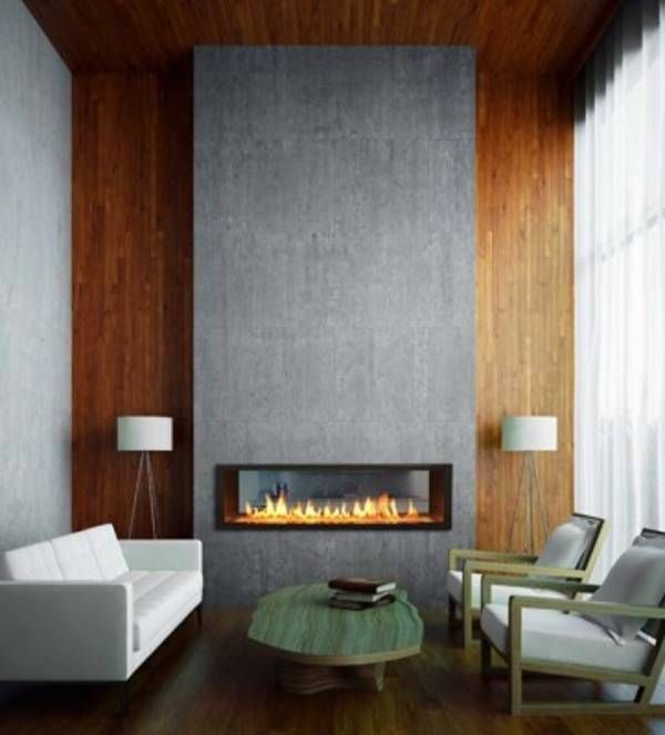 27 Mesmerizing Minimalist Fireplace Ideas For Your Living Room Part 97