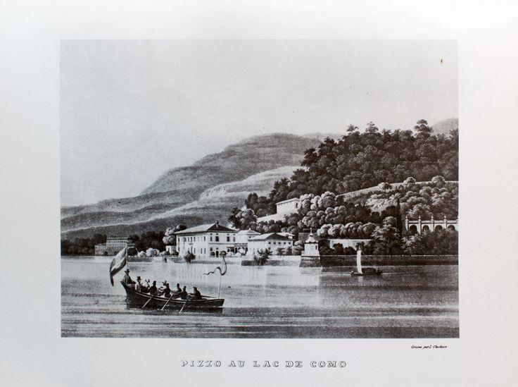 Pizzo. Veduta incisa da Luigi Cherubin e pubblicata da Ferdinando Artara. Milano 1840