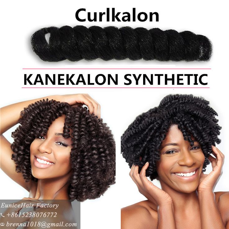 Curlkalon Carrie Curl Klassy Kinks Crochet hair extensions Ombre Havana mambo twist braiding hair Synthetic Crochet Braids hair