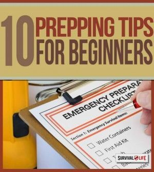 Self Sufficiency: 10 Prepping Tips For Beginners.Survival ideas and strategies on how to deal disaster situation for beginner preppers. | Survival Gear and Prepping Ideas | Survival Life | http://survivallife.com/2015/01/28/become-a-prepper-10-ways/