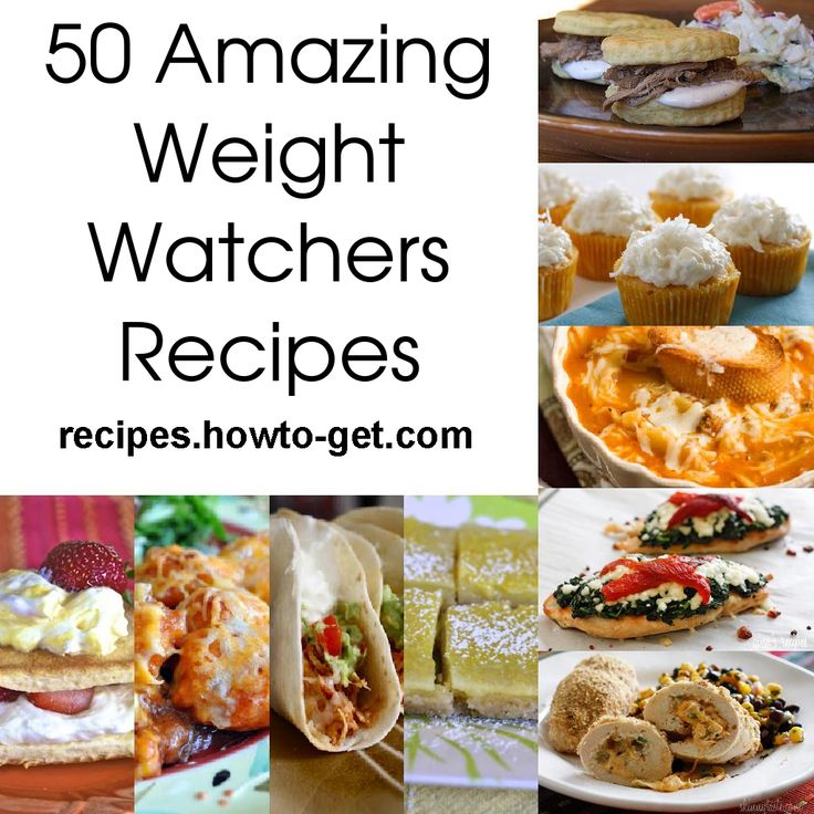 50 Weight Watchers Recipes to Help You with Your Weight Loss. I'm