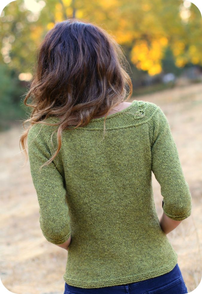 Knitting Sweaters From The Top Down : Never not knitting sprig new pattern ooh top down i
