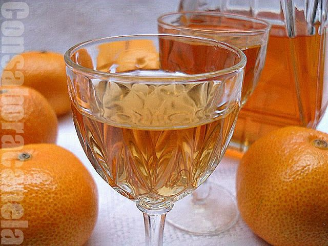 Con sabor a canela: Licor de mandarinas