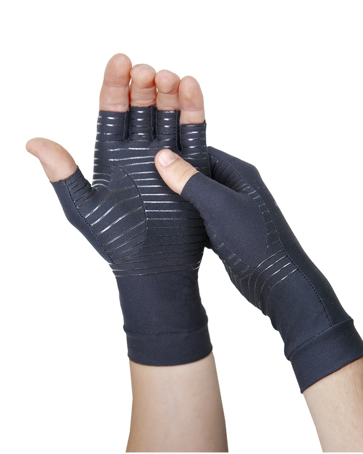 Mens Core Compression Half Finger Gloves Garden