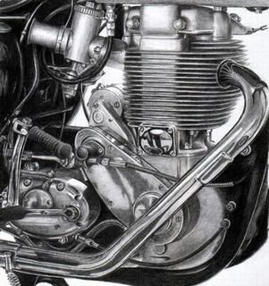 bsa engine | 1956 BSA Gold Star Clubman…!!!
