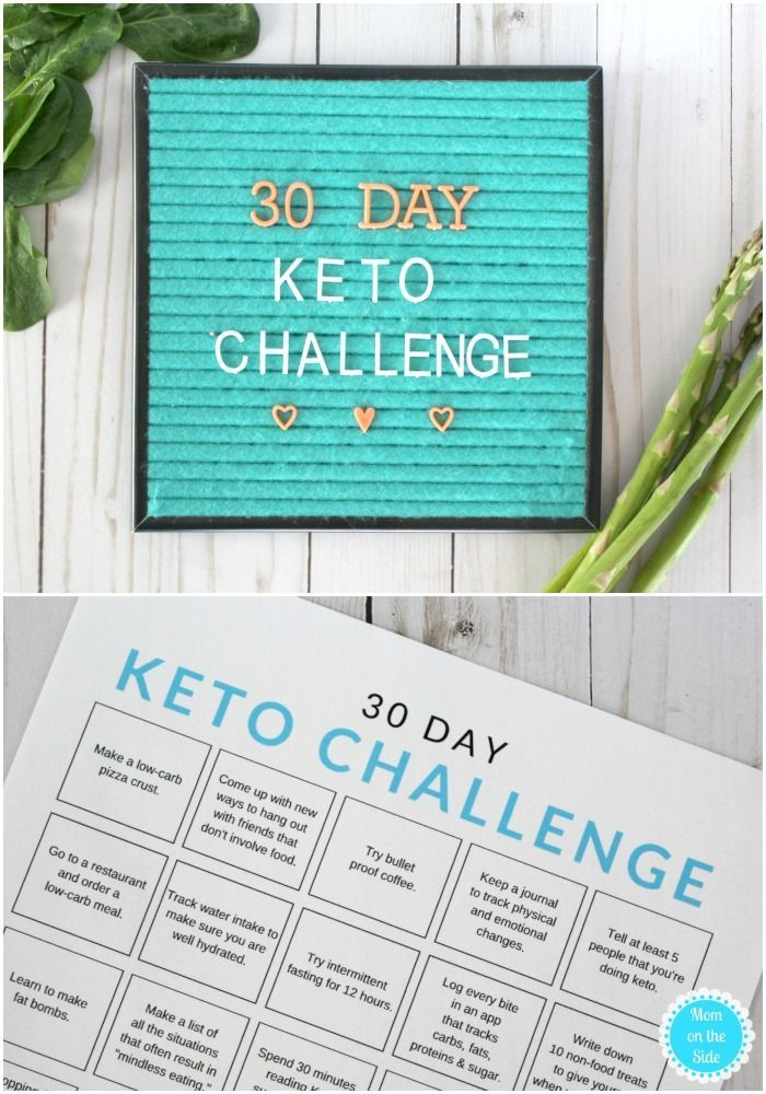 Free 30 Day Keto Challenge Printable To Jump Start Your Ketogenic Diet With Keto Recipes And Ways To Stay Motivat Keto Healthy Diet Recipes Paleo For Beginners