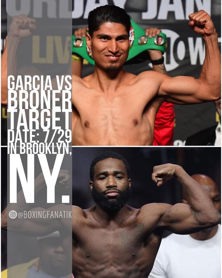 Rumor has it that a deal for Mikey Garcia (36-0, 30 KOs) vs Adrien Broner (33-2, 24 KOs) is almost finalized.  The contract calls for the fight to take place July 29th at the Barclays Center in Brooklyn, NY. . No weight for this fight has been mentioned.  Mikey last fought at 135 lbs in January, while Broner fought at a catch weight if 142 lb catch-weight vs Adrian Granados in February. . #ThankYouAlHaymon