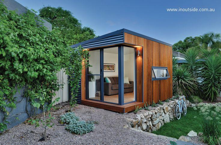 Outdoor adult retreat in Adelaide Hills #outdoor #rooms #backyardroom