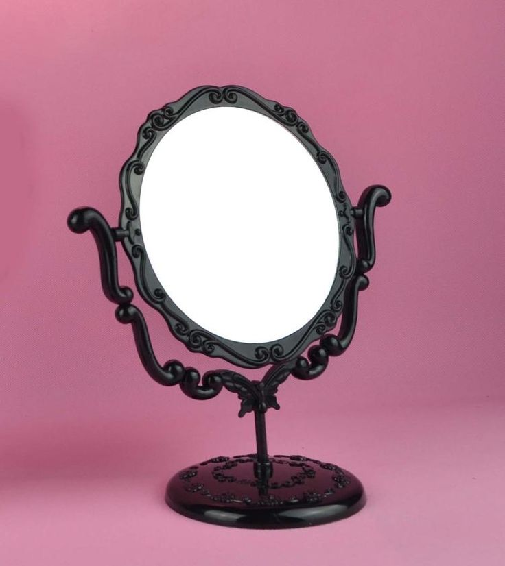How To Put Up A Bathroom Mirror: Small Bathroom: Vintage Make Up Mirror