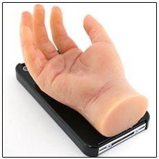 Talk about creepy! What a horrific iPhone case idea.