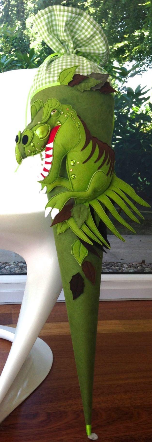 Schultüten - Schultüte RESERVIERT für m pam - ein Designerstück von frech-und-frei-by-lala bei DaWanda