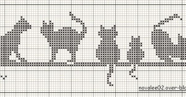 Cats, Fair isle chart and Cowls on Pinterest