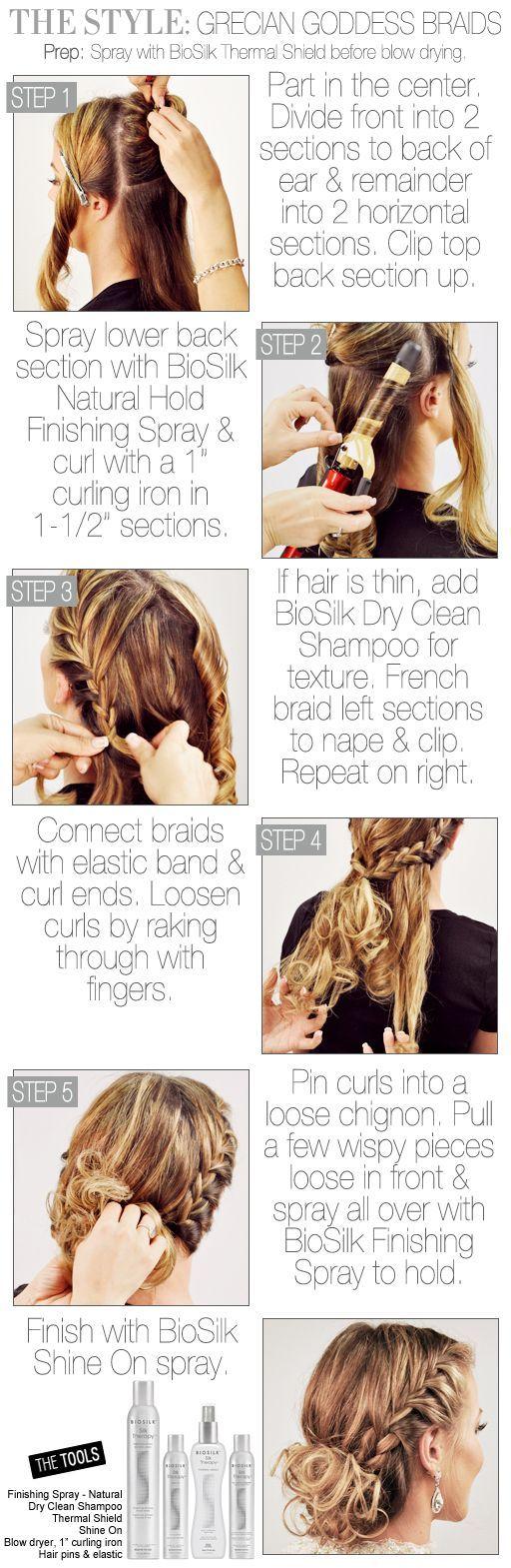 Best 25+ Goddess braids updo ideas on Pinterest | Natural ...