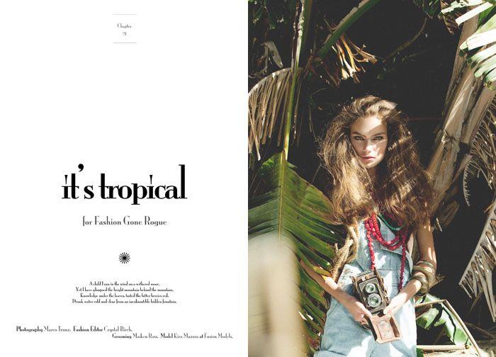 Kira Mazura by Marco Trunz for <em>Fashion Gone Rogue</em>