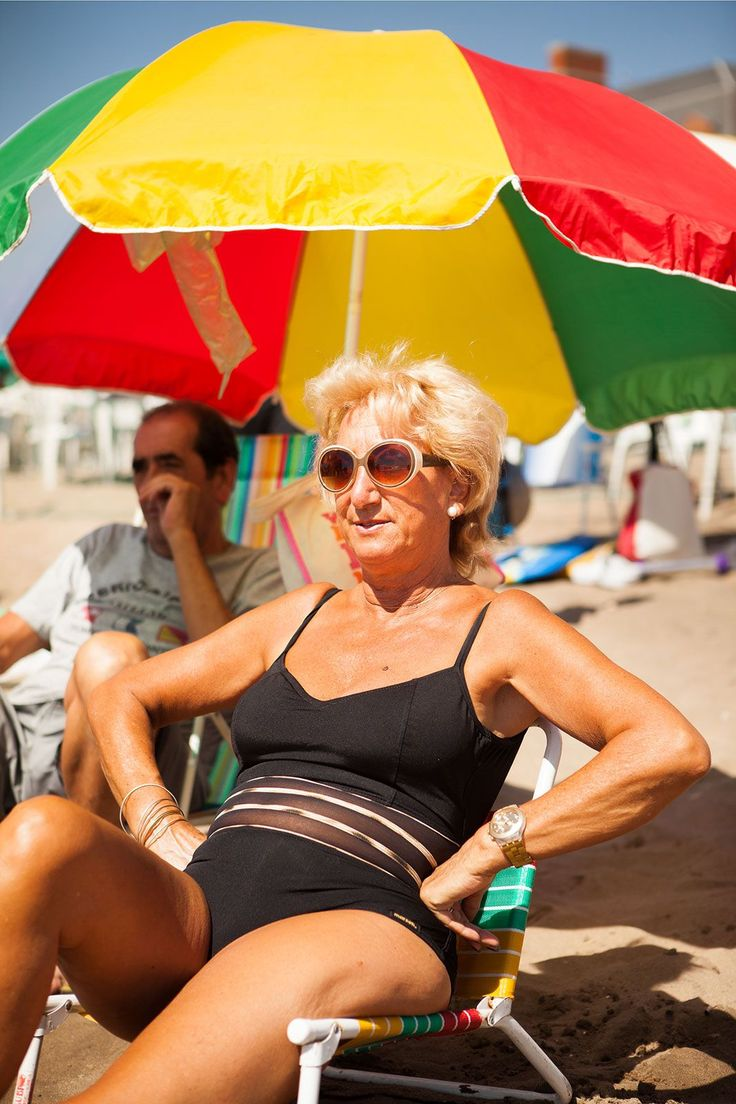 14 Photos That Show You Can Rock A Swimsuit At Any Age #refinery29  http://www.refinery29.com/mar-del-plata-beach-tradition#slide-5  Bristol Beach, Mar del Plata, Argentina....