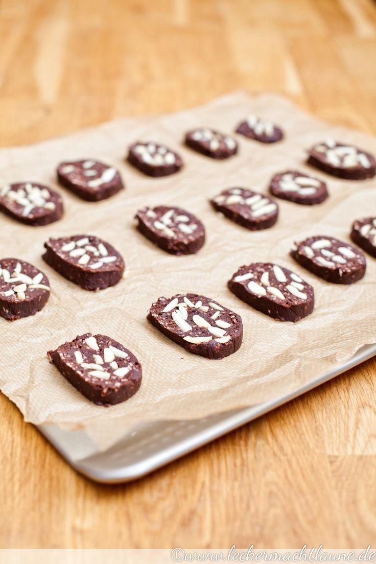 schoko kokos pl tzchen mit mandeln advent advent kekse pl tzchen rezepte cookies recipes. Black Bedroom Furniture Sets. Home Design Ideas